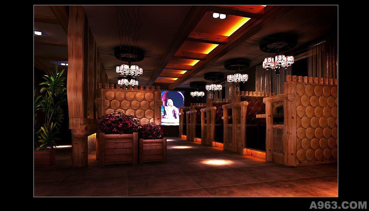 原生態音樂啤酒酒吧 - 娛樂空間 - 尹先進設計作品案例