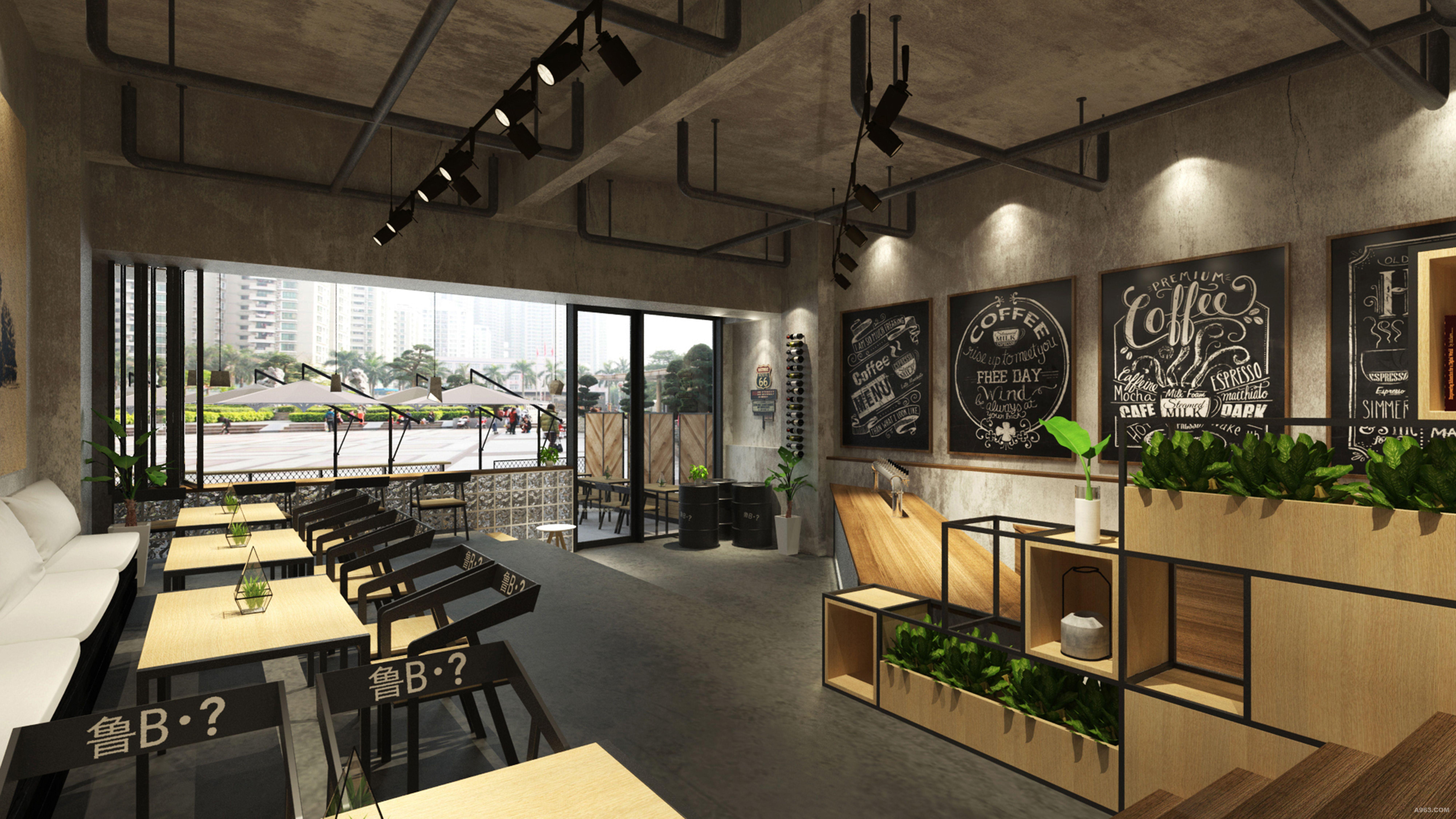 青岛鲁b酒吧室内设计说明